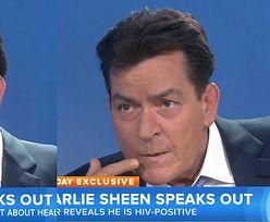 """Charlie Sheen: """"Jestem nosicielem wirusa HIV. Bliscy mnie zdradzili!"""""""
