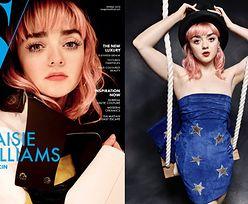 Maisie Williams prezentuje wiosenne trendy w nowej sesji