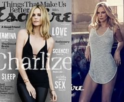"Seksowna Charlize na okładce ""Esquire"""