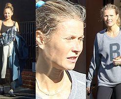 Potargany kucyk Gwyneth Paltrow wychodzi z siłowni w towarzystwie Nicole Richie (FOTO)