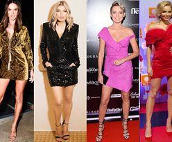 Krótkie sukienki wieczorowe – jakie wybierają celebrytki?
