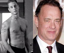 Syn Toma Hanksa z gołą klatą! PODOBNY DO OJCA?