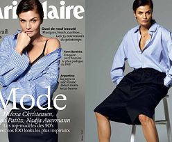"Helena Christensen pozuje dla ""Marie Claire"""