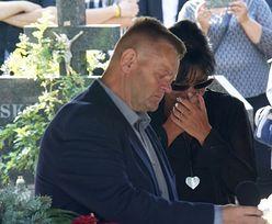 """Iwona Pavlović wygłosiła wzruszająca przemowę na pogrzebie Konrada Gacy: """"Ból krtani dusi, chcę płakać, płaczmy wszyscy"""""""