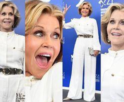 79-letnia Jane Fonda w bieli promuje film w Wenecji