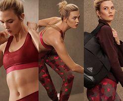Świeżo poślubiona Karlie Kloss wygina się na wszystkie strony w nowej kampanii Adidasa