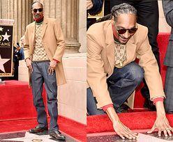 Szczęśliwy Snoop Dogg odsłania swoją gwiazdę w Alei Sławy