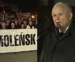 """Kaczyński na 90. miesięcznicy smoleńskiej: """"Poznamy prawdę albo stwierdzenie, że prawdy ustalić się nie da!"""""""