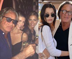 """Sandra Kubicka imprezuje z ojcem sióstr Hadid! """"Noce w Saint Tropez"""" (FOTO)"""