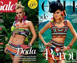 """""""Gala"""" SKOPIOWAŁA OKŁADKĘ """"Vogue'a""""! PORÓWNAJCIE..."""