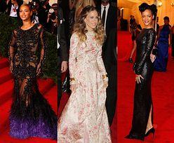 Beyonce, Parker i Rihanna w szykownych sukniach (FOTO)