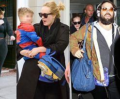 Adele z synem i partnerem przyleciała do Nowego Jorku (ZDJĘCIA)
