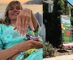 """Heidi Klum dostała... kawałek MURU BERLIŃSKIEGO! """"Wyjątkowa niespodzianka od mojego męża"""""""