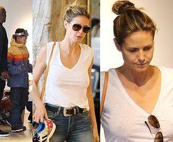 Heidi Klum bez stanika z Sealem i dziećmi na zakupach (ZDJĘCIA)