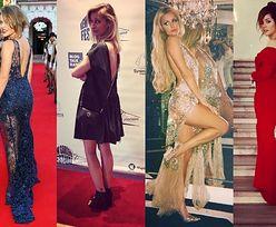 Sukienki z wyciętymi plecami w stylizacjach gwiazd