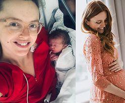 """Katarzyna Burzyńska urodziła! """"Jesteś, choć trochę wcześniej niż się spodziewałam"""""""