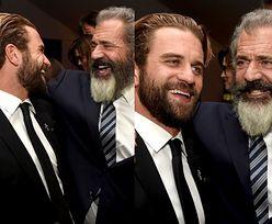 Mel Gibson z synem na premierze najnowszego filmu (ZDJĘCIA)