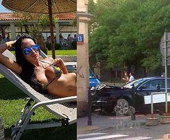Fani masakrują Małgorzatę Godlewską. Wyleguje się na leżaku, a siostra wjechała w ścianę