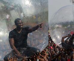 """Akon wystąpił w """"wielkiej bańce""""... Bał się zarażenia Ebolą!"""