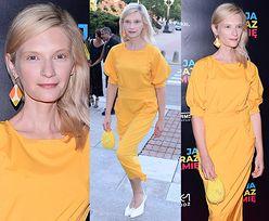 Naturalna Agata Buzek lansuje modę na odcienie żółtego
