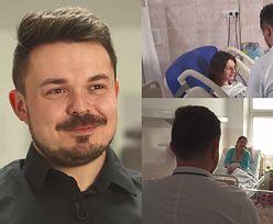 """Położny Mateusz Maga: """"Facet nie potrafi nawet grypy przeżyć. Mężczyźni nie potrafiliby przeżyć porodu!"""""""