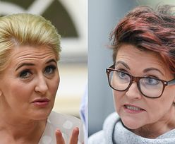 """Surowa Jolanta Kwaśniewska ocenia pomysł wypłaty dla Agaty Dudy: """"Milczenie jest złotem. Może w związku z tym ta pensja?"""""""