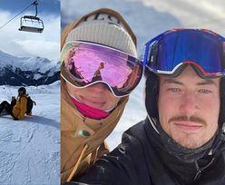 Marcelina Zawadzka i jej nowy ukochany Tomasz pozdrawiają ze szwajcarskiego stoku (FOTO)