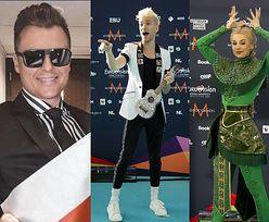 Eurowizja 2021. Wykonawcy na turkusowym dywanie i Rafał Brzozowski w hotelowym pokoju (ZDJĘCIA)