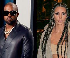 """Kanye West ODCIĄŁ SIĘ od Kim Kardashian. """"Zmienił numer i prosił, by kontaktowała się z nim przez ochroniarza"""""""