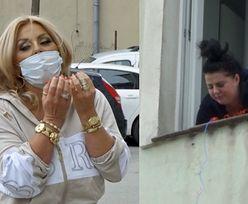 """""""Królowe Życia"""". Dagmara Kaźmierska dostarcza prowiant chorej na koronawirusa Edzi: """"Są szyneczki, masełka, chipsiki"""" (WIDEO)"""