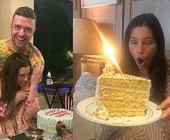 """Szczęśliwi Justin Timberlake i Jessica Biel świętują 38. urodziny aktorki w piżamach. """"Czuję miłość"""""""