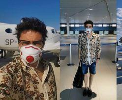 Dumny Kuba Wojewódzki chwali się samotną podróżą do Chorwacji na pokładzie PRYWATNEGO SAMOLOTU. Zazdrościcie? (FOTO)
