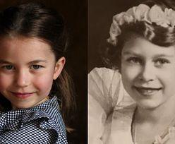 Księżniczka Charlotte coraz bardziej przypomina królową Elżbietę? (ZDJĘCIA)