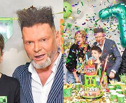 Krzysztof Rutkowski świętuje urodziny syna. Na imprezę zaprosił swój PATROL i PAPARAZZI (ZDJĘCIA)