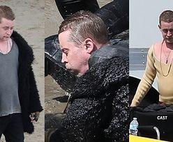 """Przemoczony Macaulay Culkin kręci scenę walki w oceanie na planie """"American Horror Story"""" (ZDJĘCIA)"""