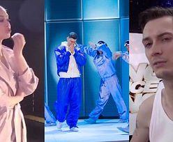 """Uczestnicy """"Dance Dance Dance"""" o przerwanej solówce brata Rafała Jonkisza: """"Tańczy świetnie. Wszyscy czekaliśmy na ten występ"""""""