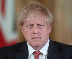 """Zakażony koronawirusem Boris Johnson trafił do szpitala: """"Ciągle się dusi i kaszle, wygląda OKROPNIE"""""""