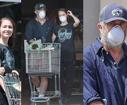 Mel Gibson z młodszą o 35 lat ukochaną wyłaniają się z marketu (ZDJĘCIA)