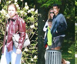 Jarosław Bieniuk spaceruje po Sopocie z partnerką Zuzanną, córką Oliwią oraz synami Jasiem i Szymkiem (ZDJĘCIA)