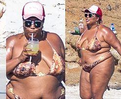 Wakacyjna Lizzo relaksuje się na meksykańskiej plaży, popijając drinka (ZDJĘCIA)