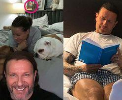 Radosław Majdan ma w sypialni... zdjęcie papieża?!