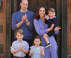 Książę William, Kate Middleton i ich dzieci oklaskują brytyjską służbę zdrowia (WIDEO)