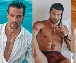 """Simone Susinna dołączył do obsady """"365 dni"""". Kim jest włoski model? (ZDJĘCIA)"""