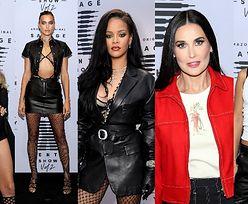 """Gwiazdy na pokazie bielizny """"Savage X Fenty"""": Rihanna, Paris Hilton, Irina Shayk, Bella Hadid, Demi Moore... (ZDJĘCIA)"""