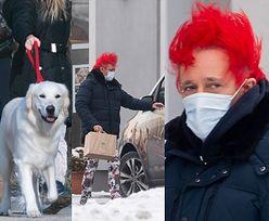 Michał Wiśniewski z dzieciakami wędruje pomiędzy śnieżnymi zaspami (ZDJĘCIA)