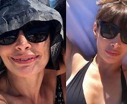"""Promienna Agnieszka Dygant chwali się pamiątkowym selfie z mamą: """"Czas dla rodziny"""" (FOTO)"""