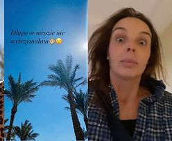 """Agnieszka Włodarczyk wyjechała na KOLEJNE egzotyczne wakacje: """"Długo na mrozie nie wytrzymałam"""" (FOTO)"""