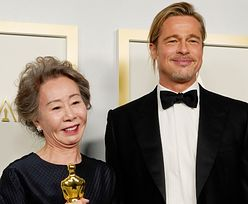 """Oscary 2021: 73-letnia laureatka Oscara flirtuje z Bradem Pittem. """"Gdzie byłeś cały ten czas?"""""""