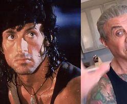 Sylvester Stallone tańczy z córką na TikToku. Bardzo się zmienił?