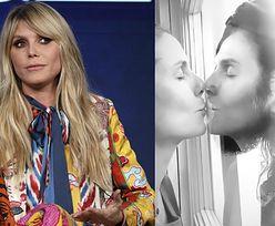 """Przebywająca na kwarantannie Heidi Klum całuje męża PRZEZ SZYBĘ: """"Nie chcemy rozprzestrzeniać zarazków"""""""
